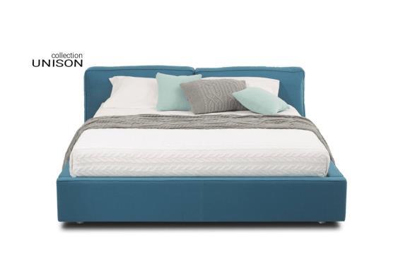 ᐉ двуспальная кровать кристин Unison блест Bl91 ᐉ купить в интерио